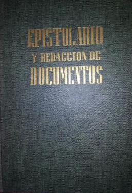 Libro antiguo_epistolario y documentos