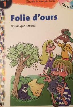Libro de lectura de francés