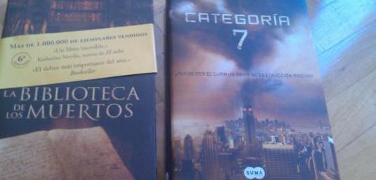 Libros la biblioteca de los muertos ,categoria 7