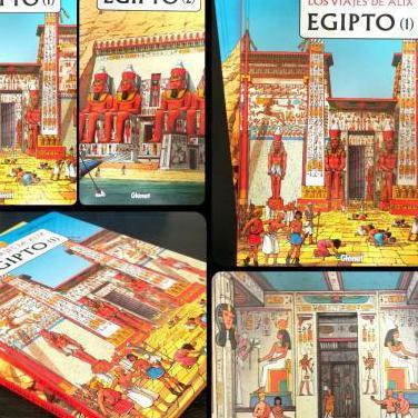 Los viajes de alix - egipto