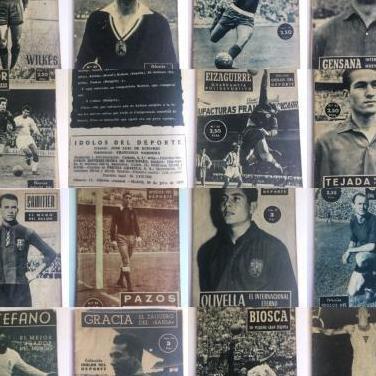 Lote 15 revistas idolos del deporte