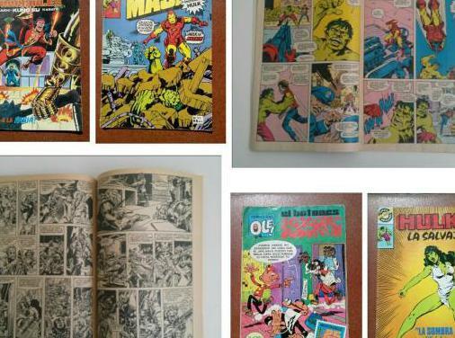 Lote 4 comics años 1979 a 1983