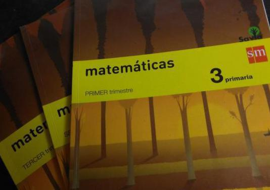 Matemáticas 3º primaria trimestral.