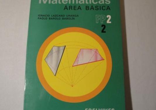 Matemáticas area básica fp2.2
