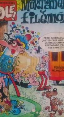 Mortadelo y filemón y el botones sacarino