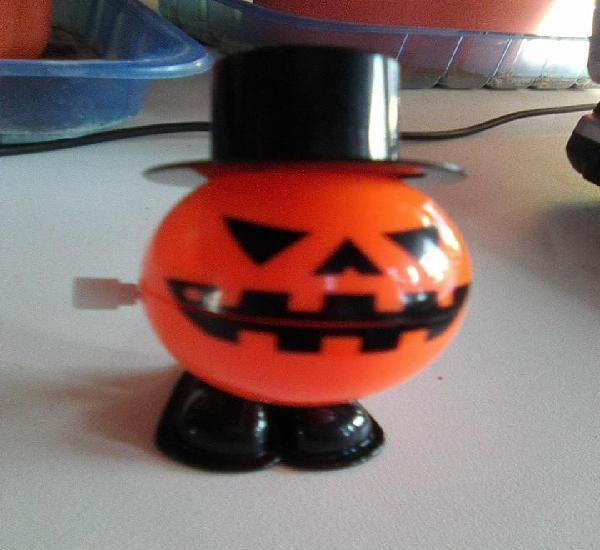 Mr. halloween - calabaza diabólica a cuerda - 7 cms