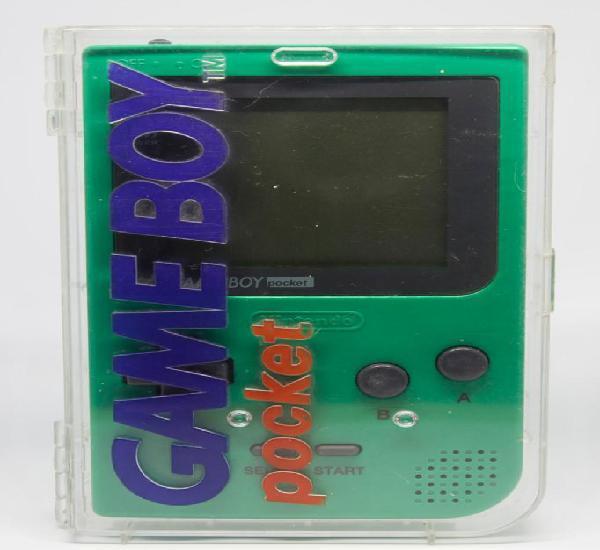 Nintendo gameboy pocket verde mgb-001 en caja