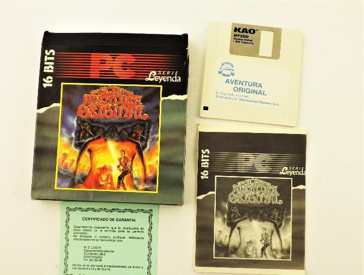 Pc juego la aventura prohibida 16 bits serie leyenda