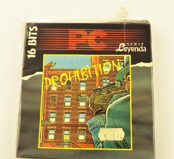 Pc juego prohibition serie leyenda 16 bits
