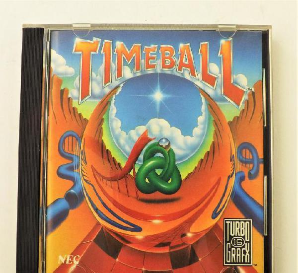 Pc juego timeball de turbo grafx (nec)