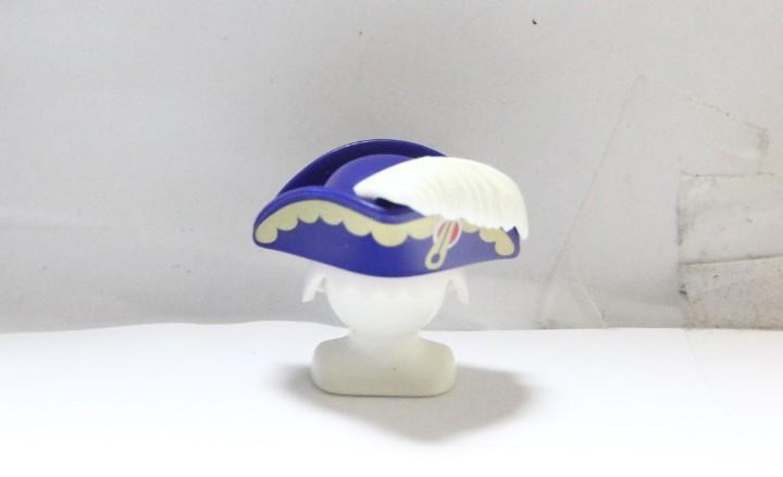 Playmobil medieval gorro sombrero almirante ingles pluma