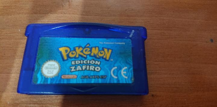 Pokemon edicion zafiro game boy advance