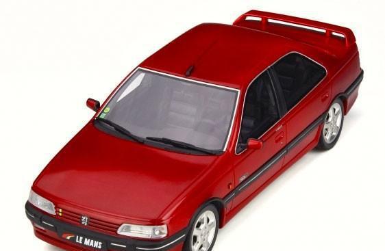 Peugeot 405 mi16 le mans 1992 escala 1/18 de otto mobile