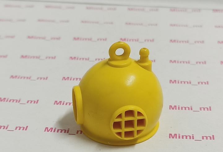 Playmobil escafandra amarilla primera época buzo primera