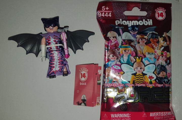 Playmobil serie 14 chica cat woman vampiresa terror