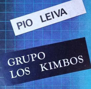 Pío leiva grupo los kimbos - lp vinilo
