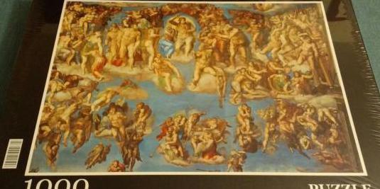 Puzzle 1000 el juicio final miguel angel