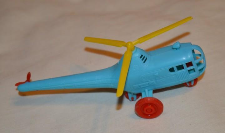 Rarísimo -- helicóptero sikorsky s-51 de pilen -- años 60