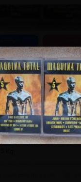 Recopilatorio maquina total 5 vol. 1 y 2