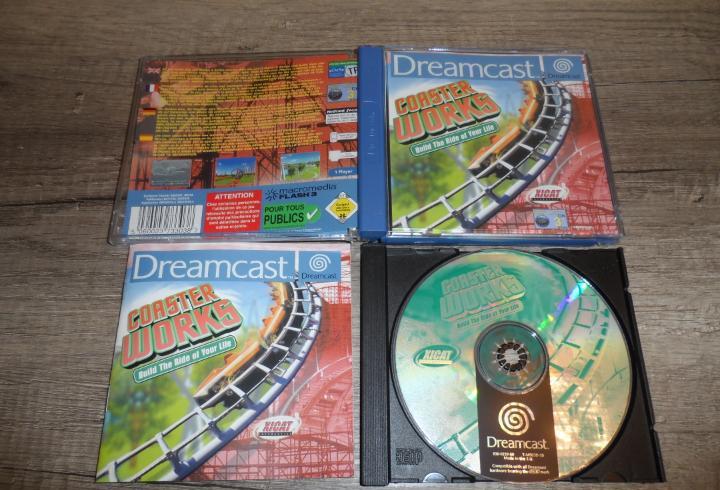Sega dreamcast coaster works pal esp completo