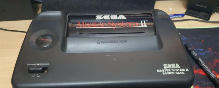 Sega megadrive master system consola