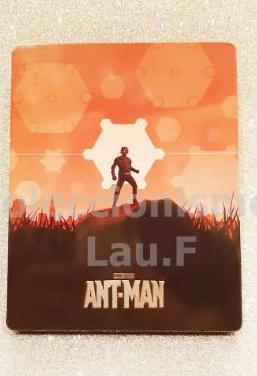 Steelbook bluray ant-man coleccionista limitada