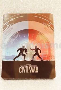 Steelbook bluray capitan america civil war limited