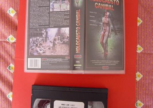 Video vhs: holocausto caníbal (manga, 1980) ¡raro