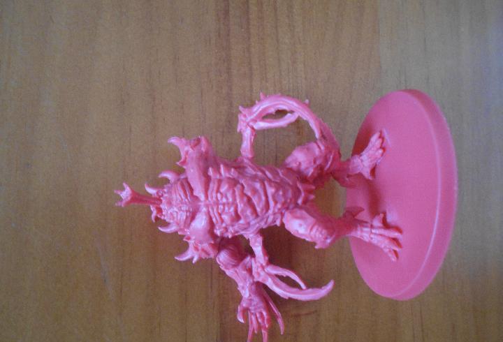 Zombicide invader - driller abomination - le falta un brazo