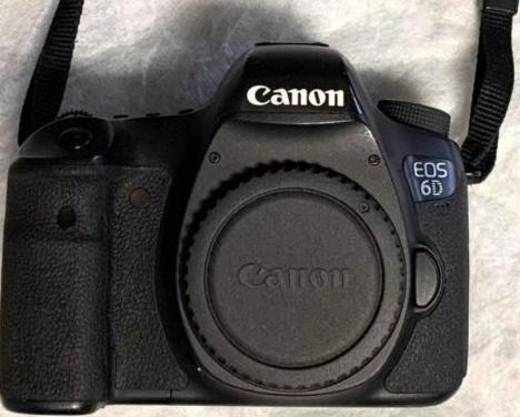 Canon eos 6d más objetivo 24-105
