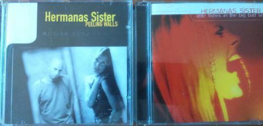 Cds 2 hermanas sister (nuevo) rock