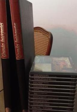 Colección cd's grandes interpretes
