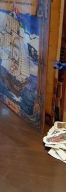 Libro 3d barco pirata
