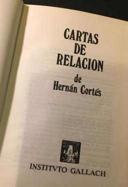 Libro cartas de relacion de hernan cortes