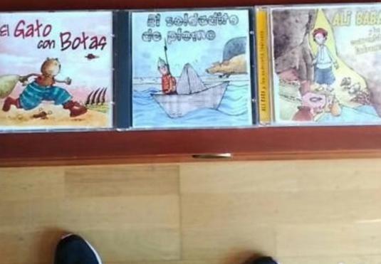 Lote de cd de cuentos de siempre nuevos