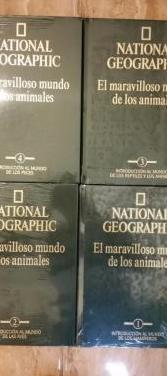 Nat. geographic mundo animal 4 vol nuevo