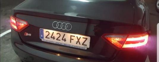 Audi a5 3.2 fsi 265cv multitronic