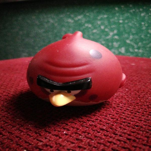 Angry birds muñeco pajaro rojo 5cm animales animal