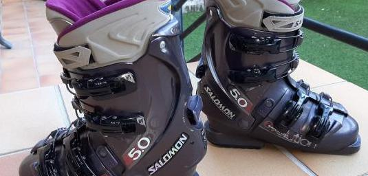 Botas ski salomon 5.0 mujer 38