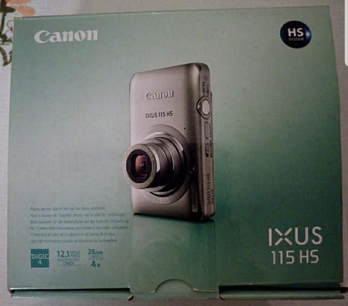 Cámara fotos digital canon ixus 115 hs