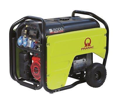 Generador gasolina pramac s8000
