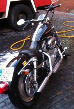 Harley davidson sportster 883 custom (2000-2008)