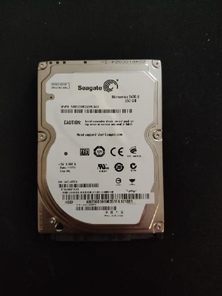 """Hdd 2.5"""" 500gb disco duro seagate"""