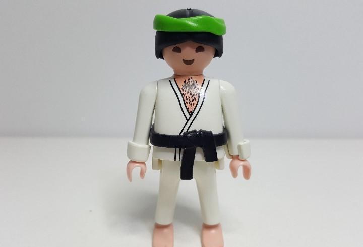 Hombre oriental playmobil 4532 especial chino karate
