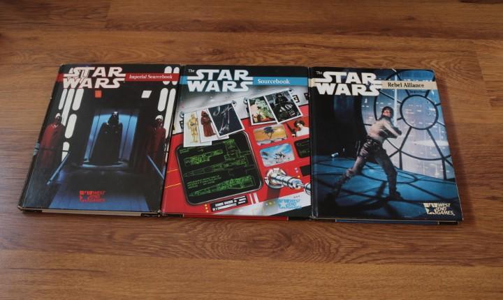 Lote 3 libros juego rol star wars rpg weg joc suplemento