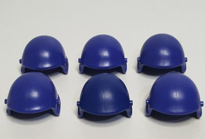 Lote casco piloto playmobil gorro sombrero azul