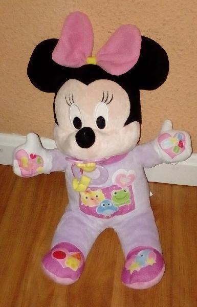Minnie mouse muñeca interactiva