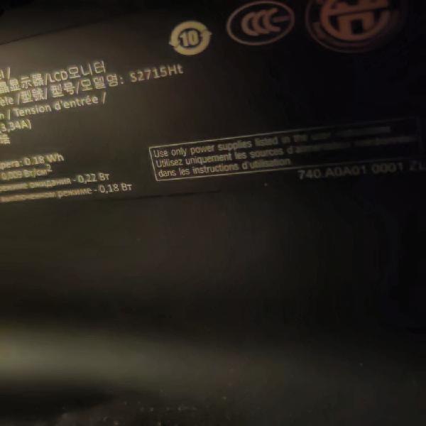 """Monitor dell ultra sharp 27"""" s2715ht con altavoces"""