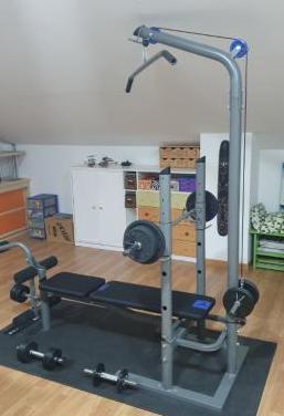 Máquina fitness multifunción