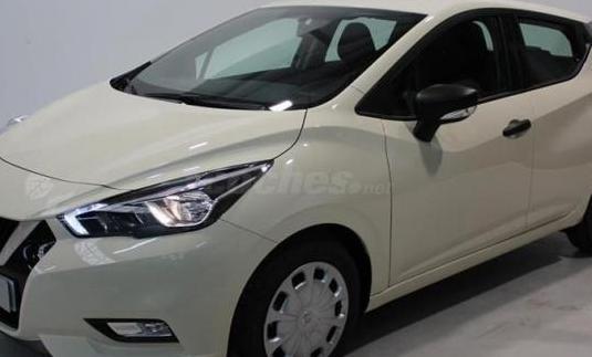 Nissan micra 1.5dci 66 kw 90 cv ss visia 5p.